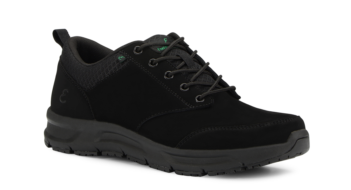 View Men's Quarter slip resistant work shoe