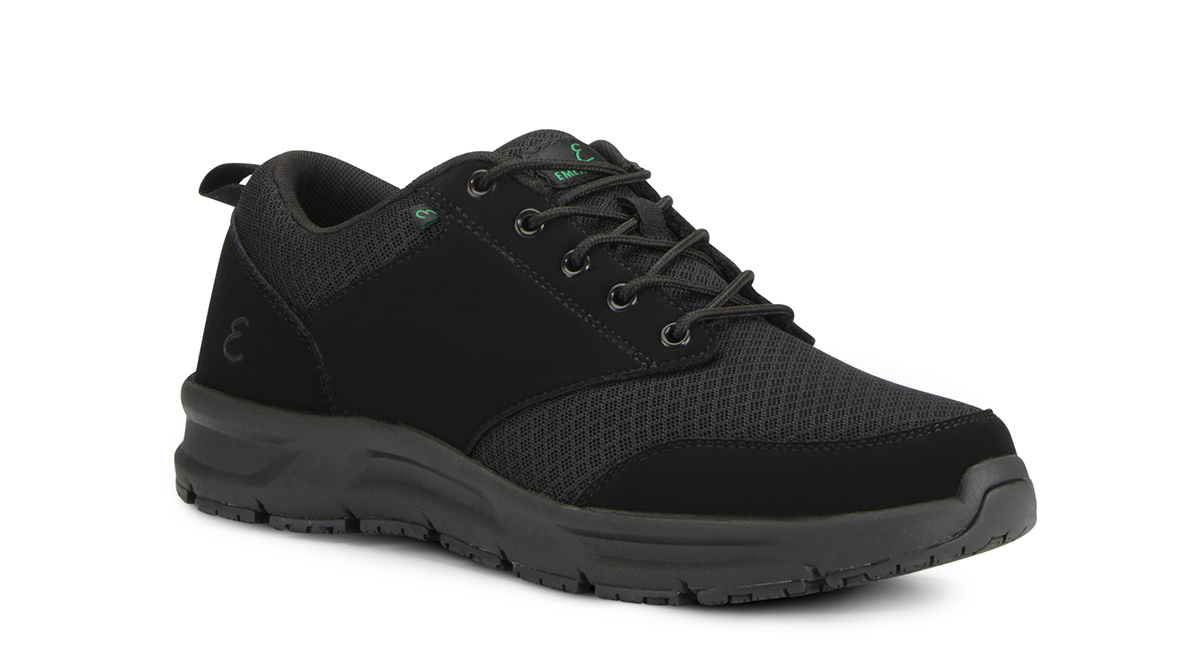 View Men's Quarter Mesh slip resistant work shoe