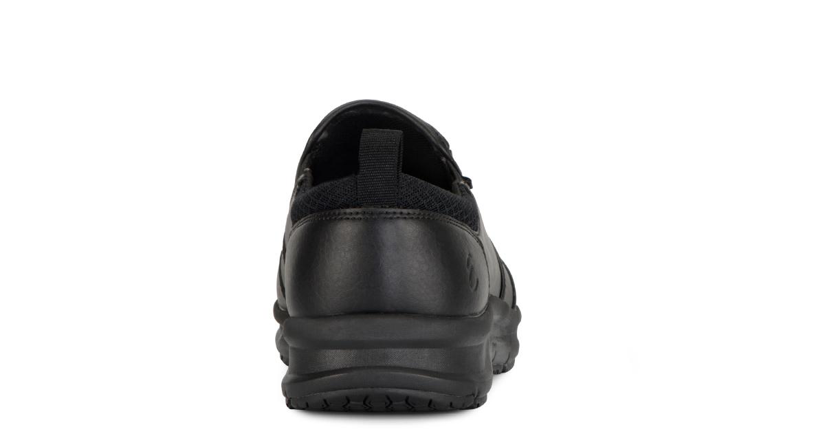 Men's Quarter Slip On Tumbled slip resistant work shoe