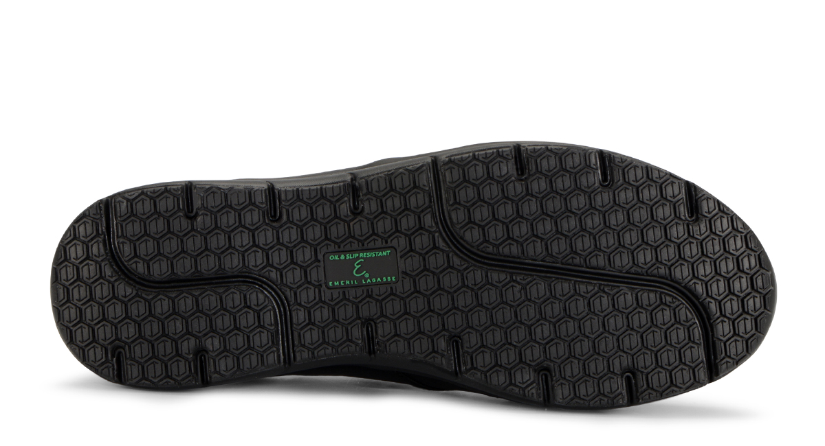 View Men's Quarter Slip On Tumbled slip resistant work shoe