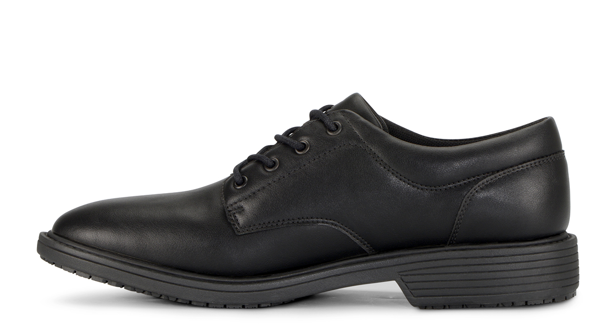 View Men's West End Smooth slip resistant work shoe